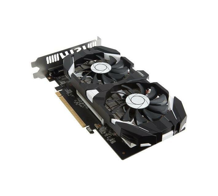 MSI GTX 1050 TI 4GT OCV1 - graphics card - GF GTX 1050 Ti - 4 GB