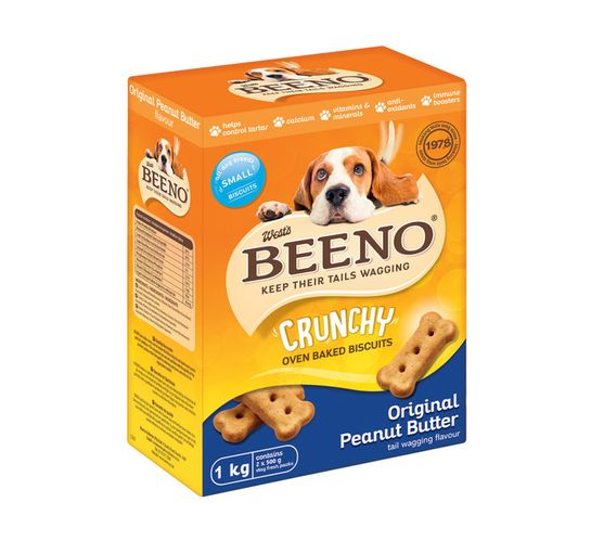 Beeno Dog Biscuits Small Original (12 x 1kg)