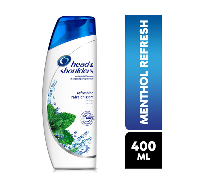 Head & Shoulders Shampoo Cool Methol (1 x 400ml)