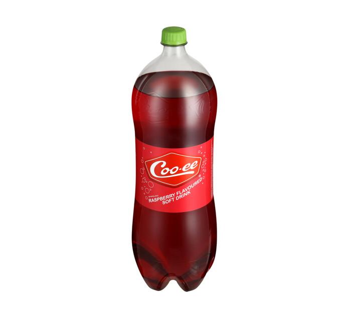 Coo-ee Soft Drink Raspberry (1 X 2L)