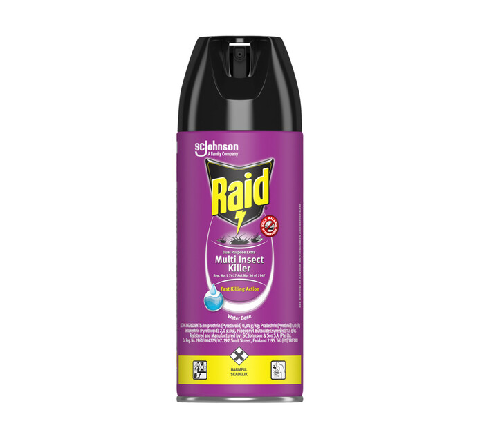 Raid Insect Spray Regular (24 x 300ml)