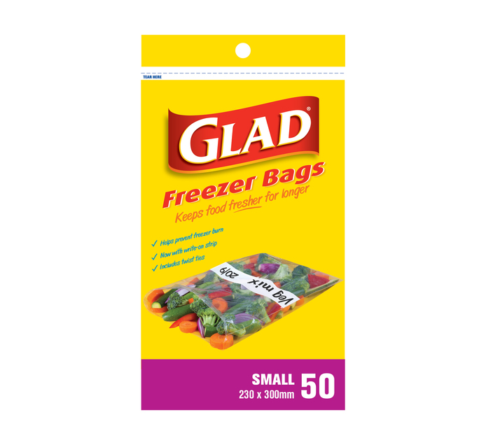 Glad Freezer Bags Small (1 x 50's)