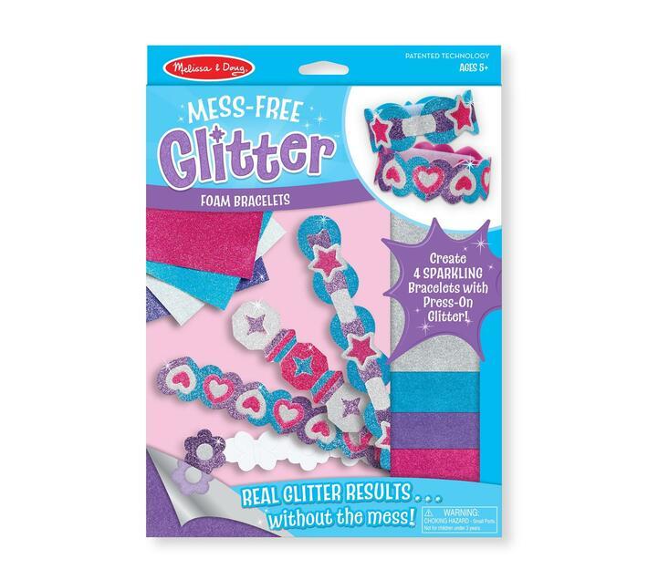 Foam Bracelet - Mess Free Glitter