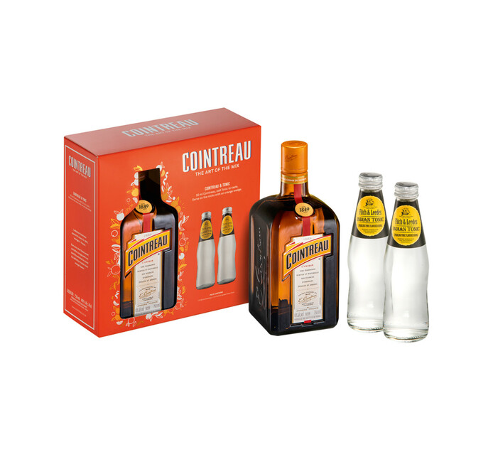 Cointreau Liqueur and 2 Tonics in Giftpack (1 x 750ml)