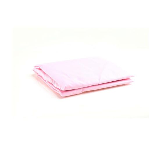STANDARD COT FITTED SHEET - PINK