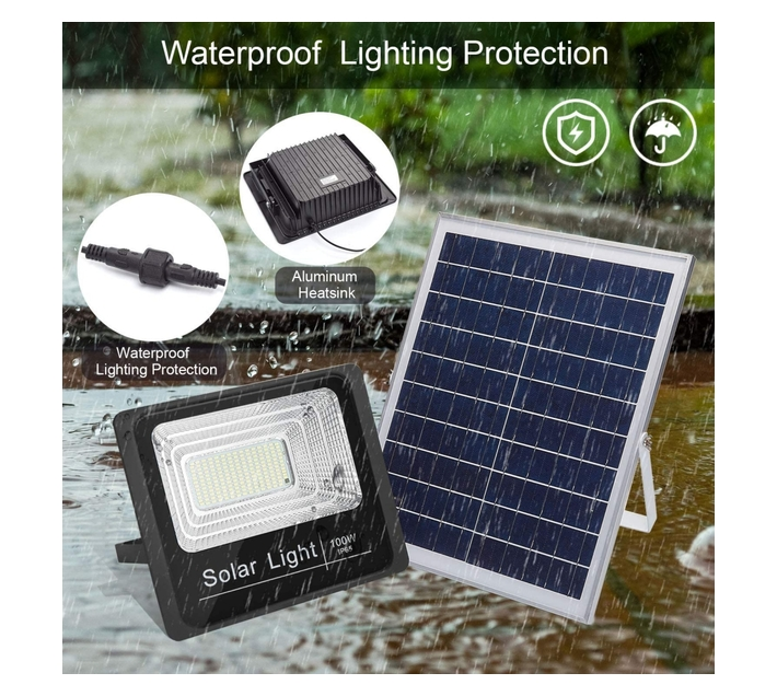 100W Solar Outdoor Flood Light – FB-8800