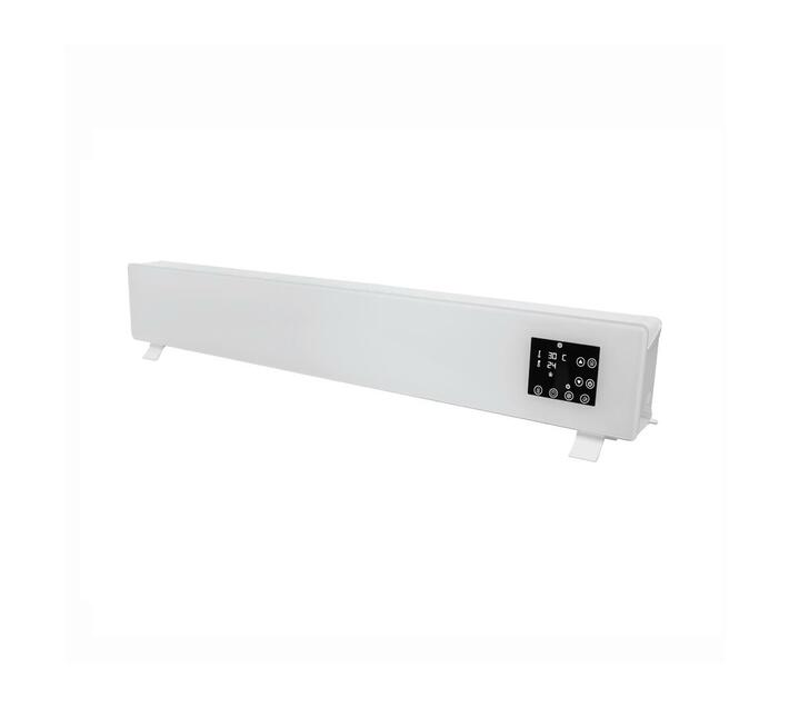 Alva - Electric Freestanding Glass Face Heater – White