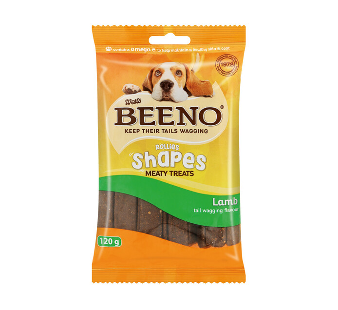 Beeno M/Treats Shapes Lamb (1 x 120g)