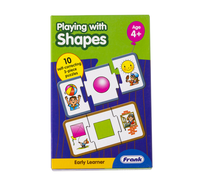 Frank Early Learning Playing With Shapes