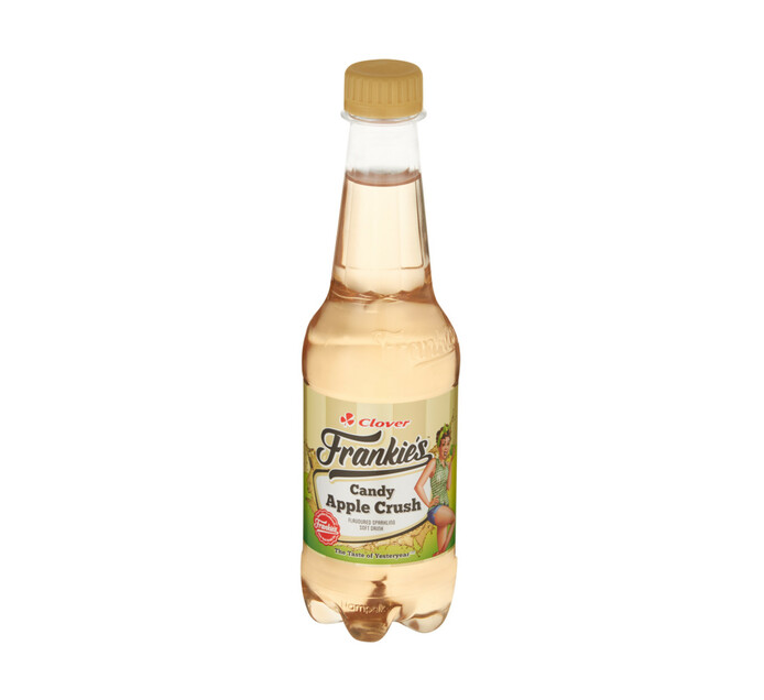 Frankies Carbonated Soft Drink Candy Apple Crush (6 x 400ml)