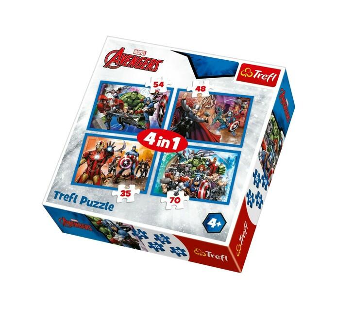 Avengers Trefl Puzzle 4-In-1