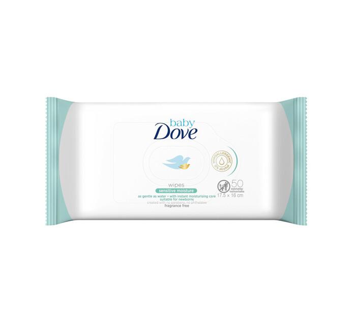 Dove Baby Wipes Sensitive (1 x 50's)