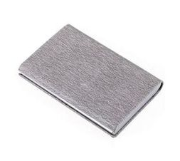 Troika Credit Card Case with RFID Shielding Marble Safe Grey