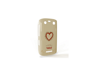 Whatever It Takes Tough Shield Blackberry 9360 Cover (Charlize T Cream)