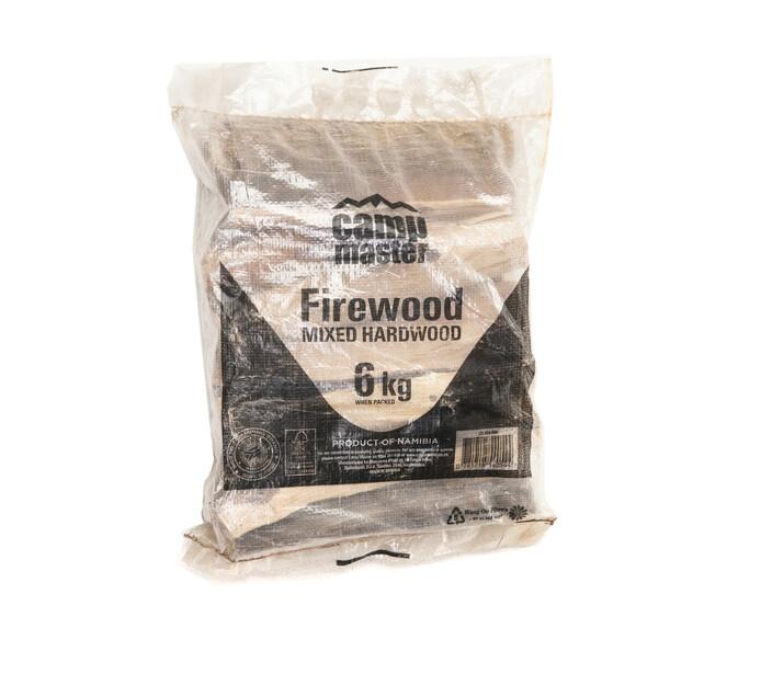 Campmaster 6 kg Hard Mix Firewood
