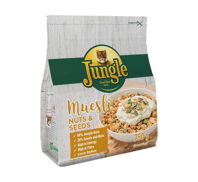 Jungle Muesli Nuts & Seeds (1 x 750g)