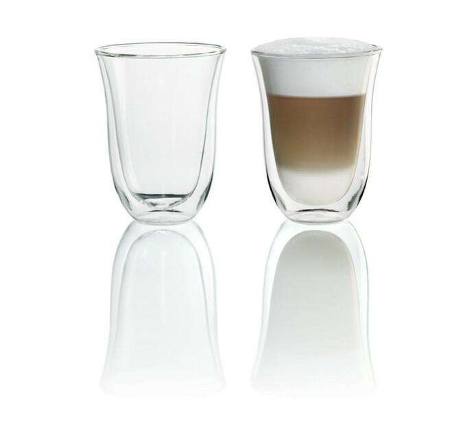 Delonghi Latte Glass Set