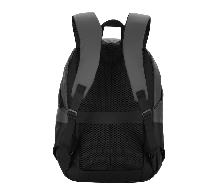 """Volkano Raptor Series 15.6"""" (39.6 cm) Backpack in Black and Grey With Adjustable, Padded Shoulder Straps for Added Comfort During Wear and Back Panel"""