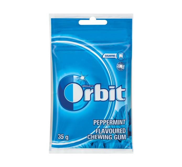 Orbit Sugar Free Gum Refill Pack Peppermint (1 x 25PC)