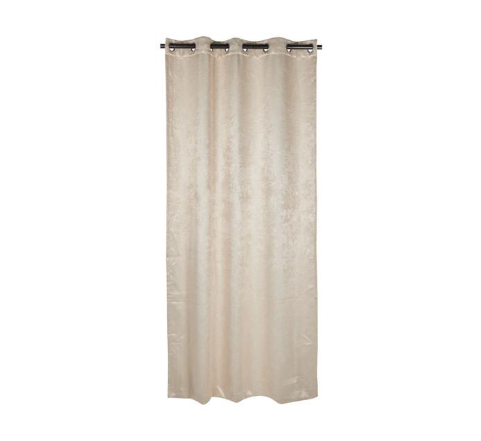 Republic Umbrella 135 cm x 225 cm Madison Blockout Eyelet Curtain Natural