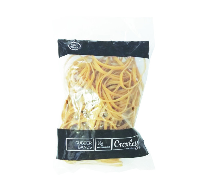 Croxley No. 64 Rubber Bands 100-Pack