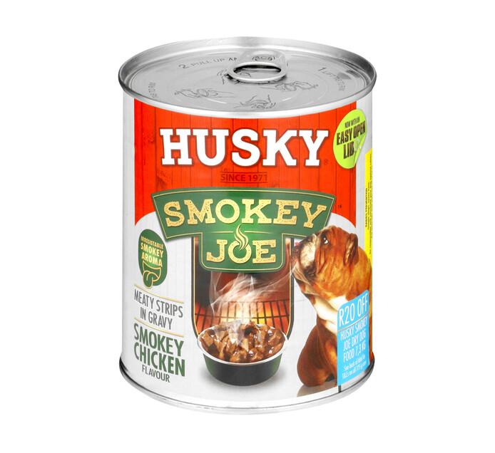 HUSKY Smokey Joe Wet Dog Food Chicken (1 x 775g)
