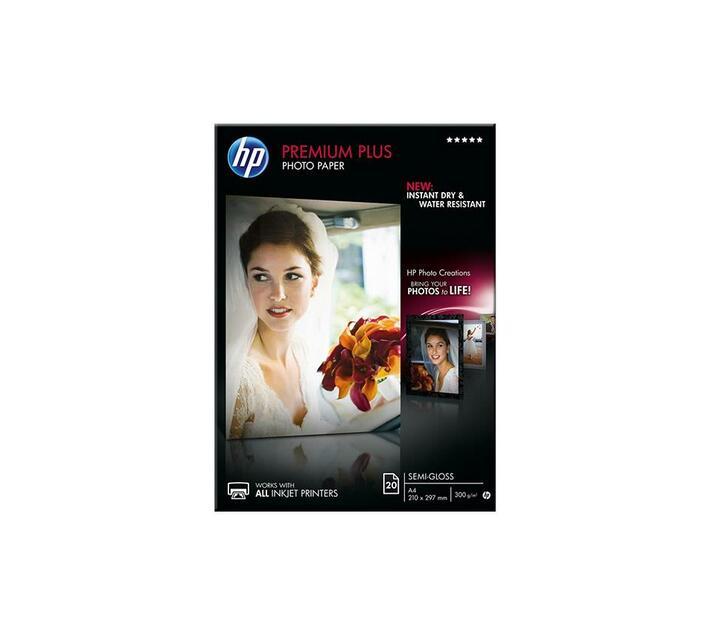HP Premium Plus Photo Paper Semi-gloss photo paper A4 (210 x 297