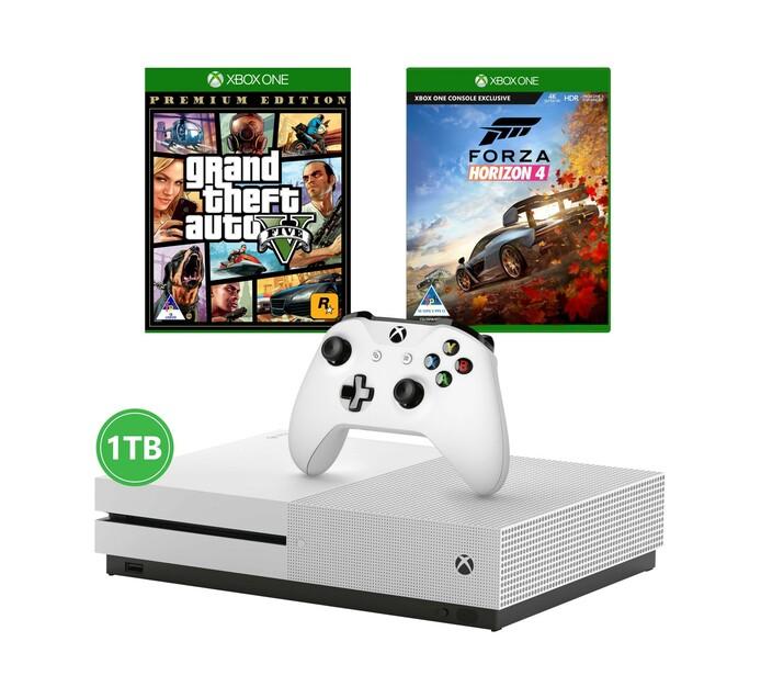 Xbox One S 1TB Console plus Gta V plus Forza Horizon 3