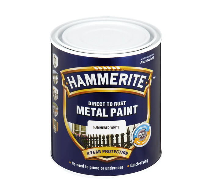 Hammerite 1L Metal Paint White