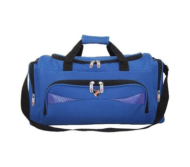 26271 Royal blue Kings urban gear Duffel/travel carry bag with Blue Inserts