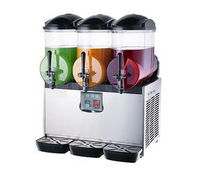 CHROMECATER Triple 15L Slush Machine
