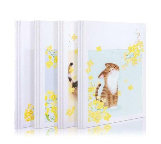 Deli Stationery Sewinng Notebook A4/40 Sheets Asst.