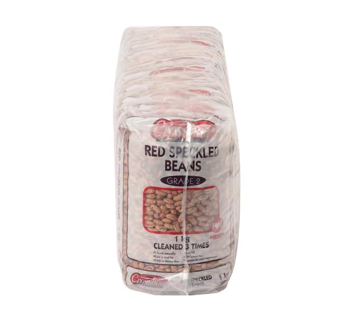 Crossbow Red Speckled Beans (10 x 1kg)