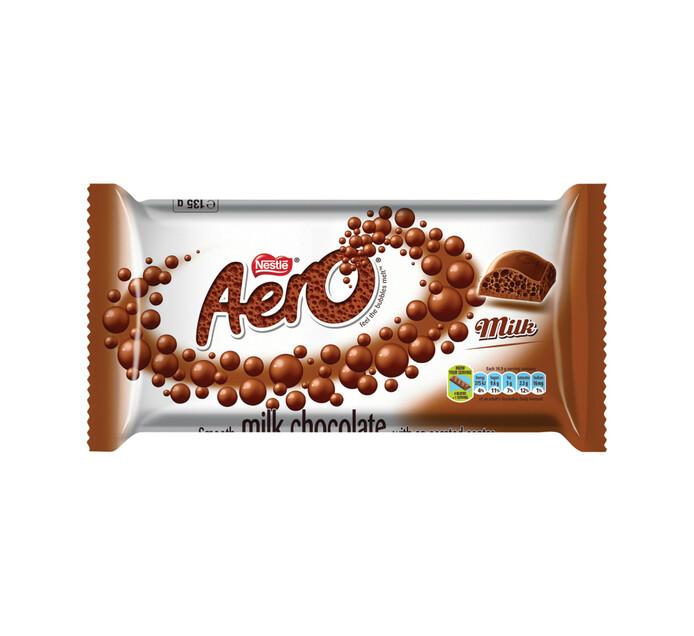 Nestle Aero Chocolate Slab Milk (135g)