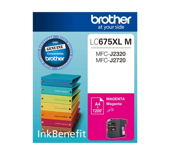 Brother 675XL Magenta Ink Cartridge