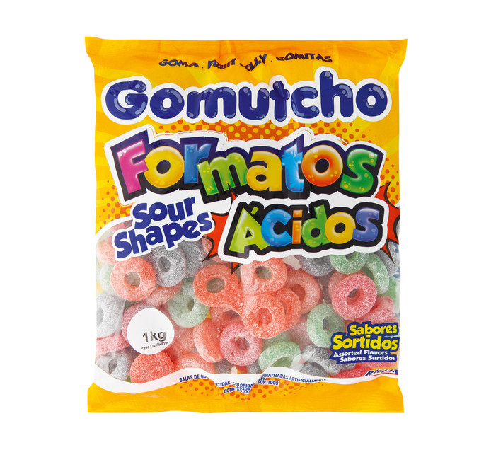 Rilan Gomutcho Sweets Sour Rings (1 x 1kg)