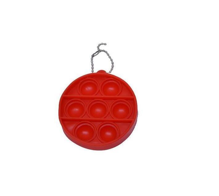 Poppet Fidget Toy (Red Round)