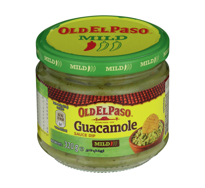 Old El Paso Dip Guacamole (1 x 320g)