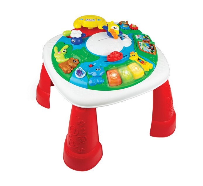 WINFUN GLOBETROTTER ACTIVITY TABLE