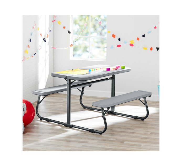 Yourzone Kids Folding Picnic Table Set
