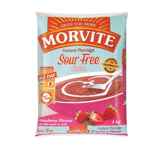 Morvite Choice Instant Porridge Strawberry (1 x 1kg)