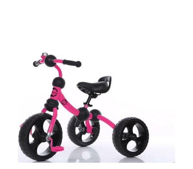 Little Bambino Tricycle with Adjustable Seat- Pink