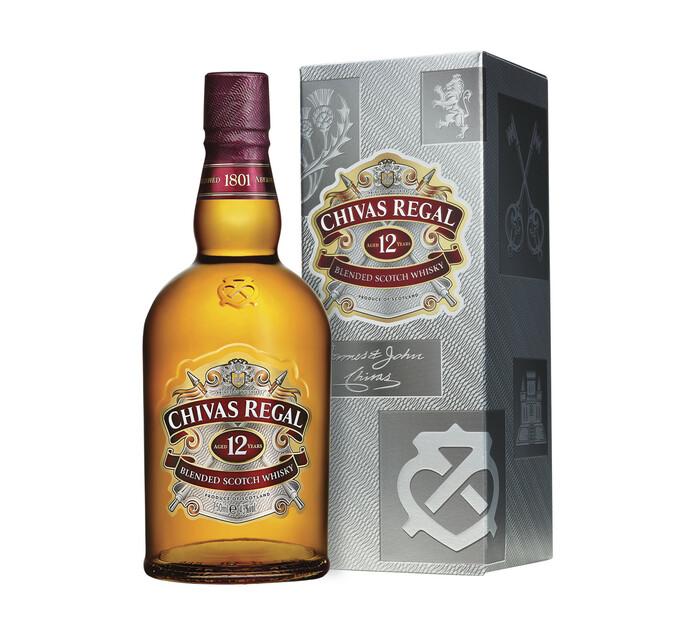 Chivas Regal 12 YO Blended Scotch Whisky (1 x 750 ml)