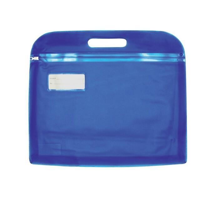 Kenzel Zipper Bag with Handle Assorted Each