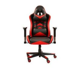 PowerContour Gaming Chair, Black and Red