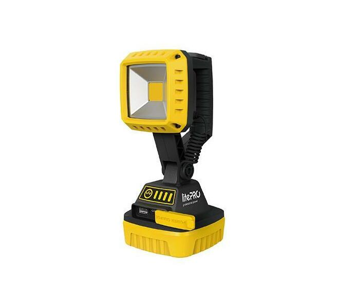 LITEPRO 10W RECHARGEABLE & DRY CELL MULTIFUNCTION WORK LIGHT