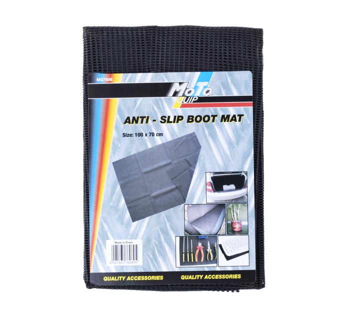 Moto-quip 100X70 Non Slip Boot Mat