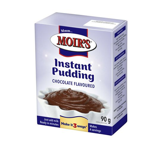 Moir's Instant Puddings Chocolate (1 x 90g)