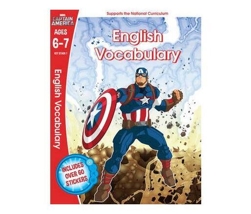 Captain America: English Vocabulary, Ages 6-7