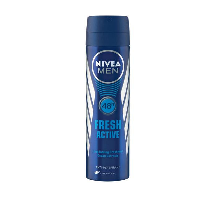 Nivea Deodrant Fresh Active (1 x 150ml)